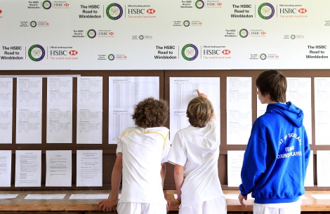 HSBC Road to WImbledon finalists check the draw